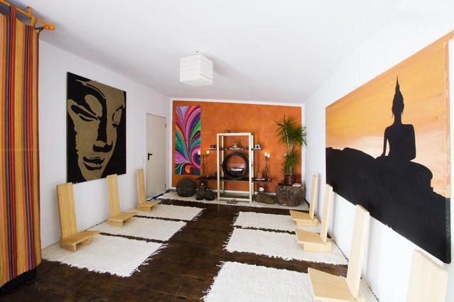 Un lugar para relajarte y meditar casa de familia en - Meditar en casa ...