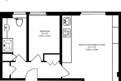 Modern 1 Bedroom Apartment Ears Court