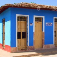 Double Room with private bathroom ensuite in Hostel Trinidad, Cuba