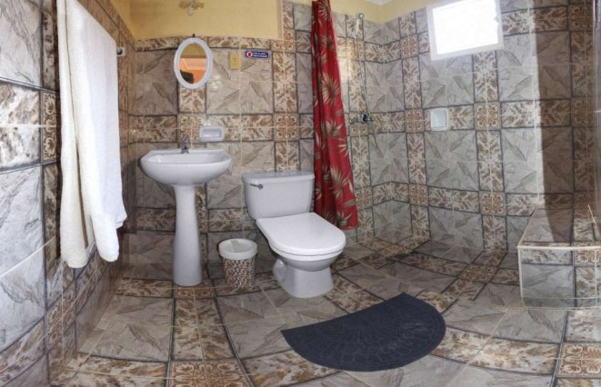 Double Room with private bathroom ensuite in Hostal