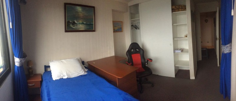 Room in Valparaiso, location and panoramic view.
