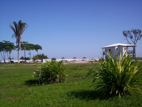 Bungalows a Orillas del mar Caribe