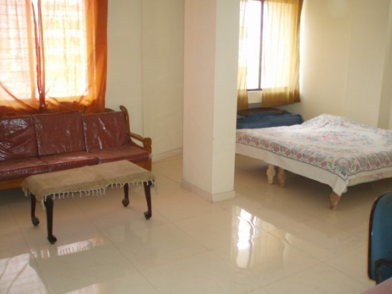 Furnished apartment available as hostel facility.