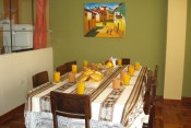 furnished apartment with garage in cusco