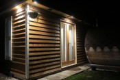 Brand new garden cabin with large double bedroom and ensuite near Canterbury
