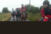 Learn English and Horse ride in Ireland